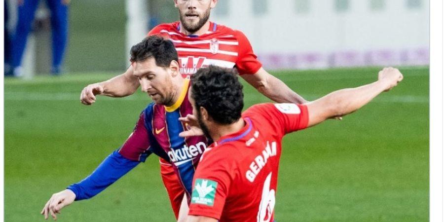 VIDEO - Momen Ambyar Lionel Messi Gagal Cetak Gol Gampang
