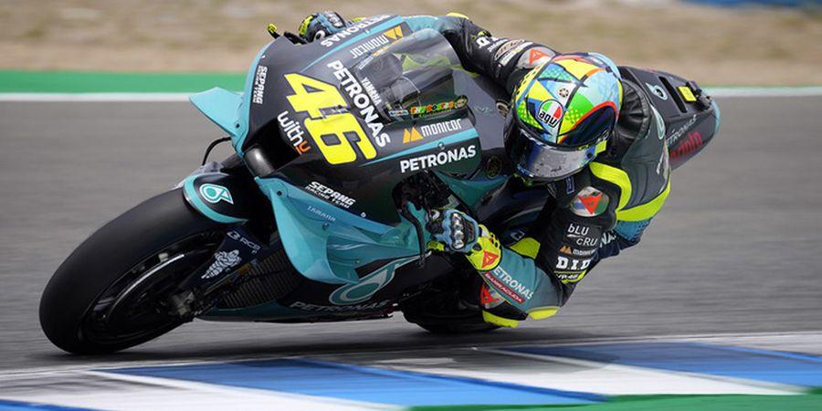 Langkah Cantik Valentino Rossi Ini Bikin Juara MotoGP 2020 Kesengsem