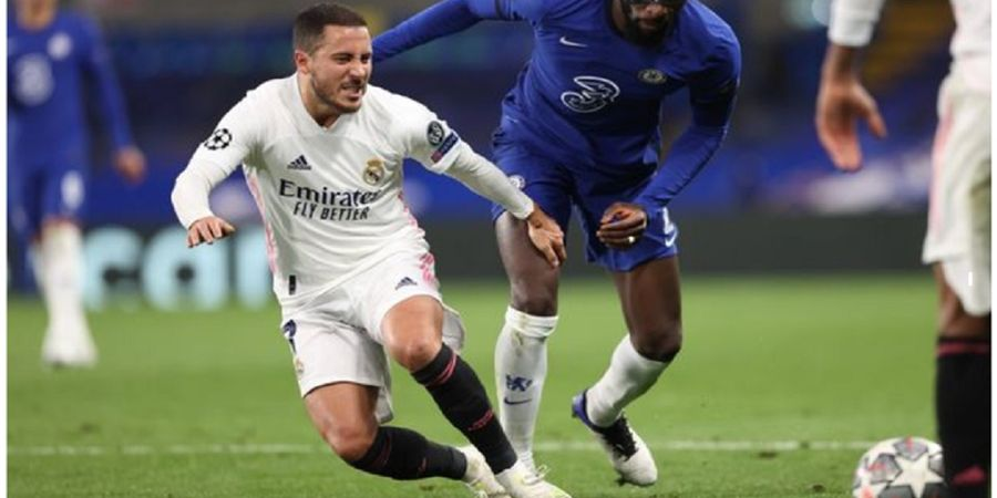 Hasil Liga Champions, Hazard Tertawa Ngakak Usai Real Madrid Disingkirkan Chelsea