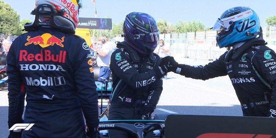 Hasil Kualifikasi F1 GP Spanyol 2021 - Lewis Hamilton Cetak Pole Position ke-100