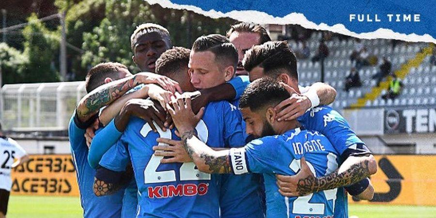 Hasil dan Klasemen Liga Italia - Napoli Menang, AC Milan Terbuang