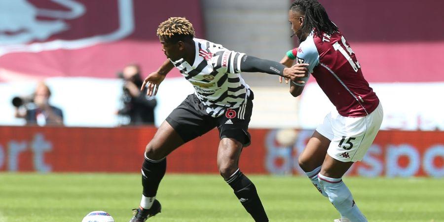 Manchester United Tertinggal 0-1 dari Aston Villa di Babak I
