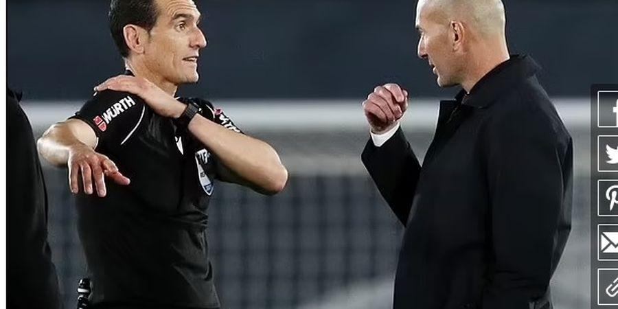 Real Madrid Vs Sevilla Berakhir Imbang, Zidane: Saya Sangat Marah!