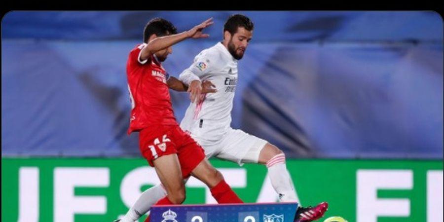 Hasil Liga Spanyol - Imbang 2-2 Lawan Sevilla, Real Madrid Salip Barcelona, tapi Gagal ke Puncak