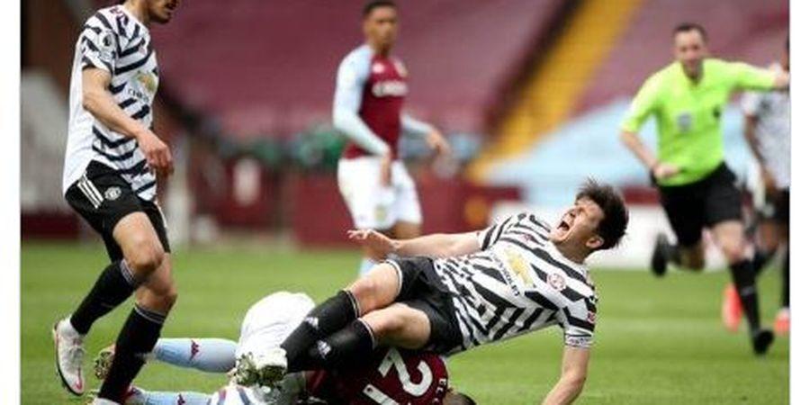 Maguire Jadi Tumbal Kemenangan Man United, Terancam Absen hingga Akhir Musim