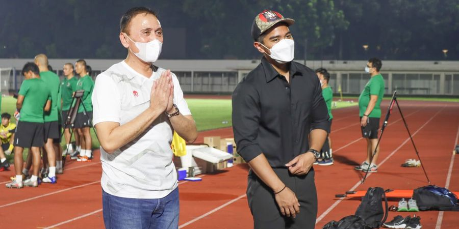 Kunjungi Latihan Timnas Indonesia, Kaesang Pangarep Bawa Misi Pengawasan