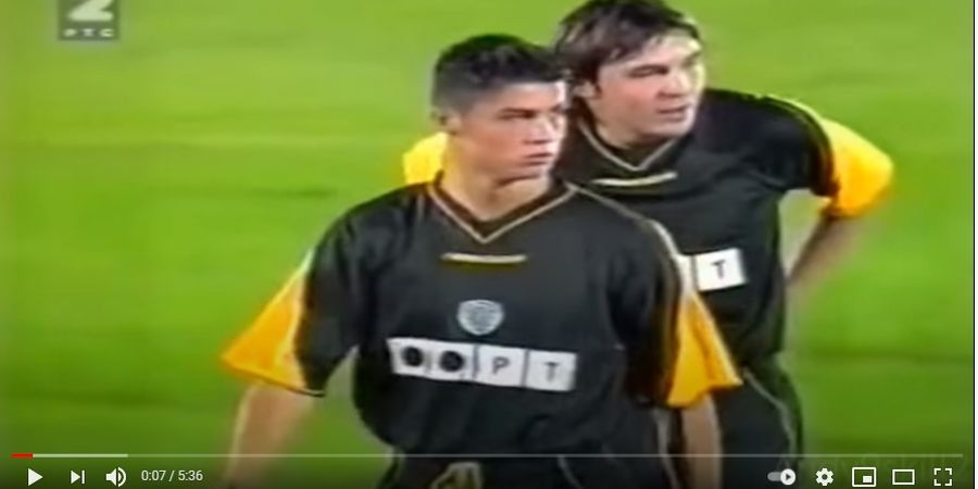 Amit-amit, Terakhir Kali Cristiano Ronaldo Main di Liga Pocong 20 Tahun Lalu