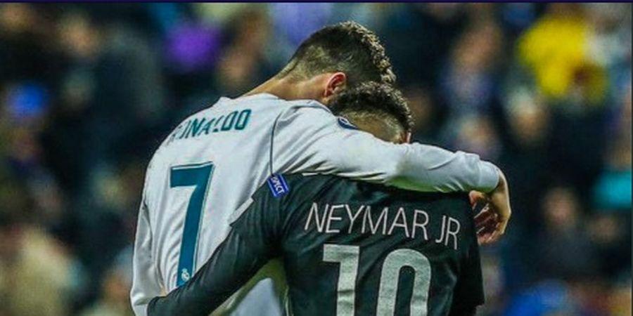 Sudah Cicipi Main Bareng Messi, Neymar Kini Ingin Setim dengan Ronaldo