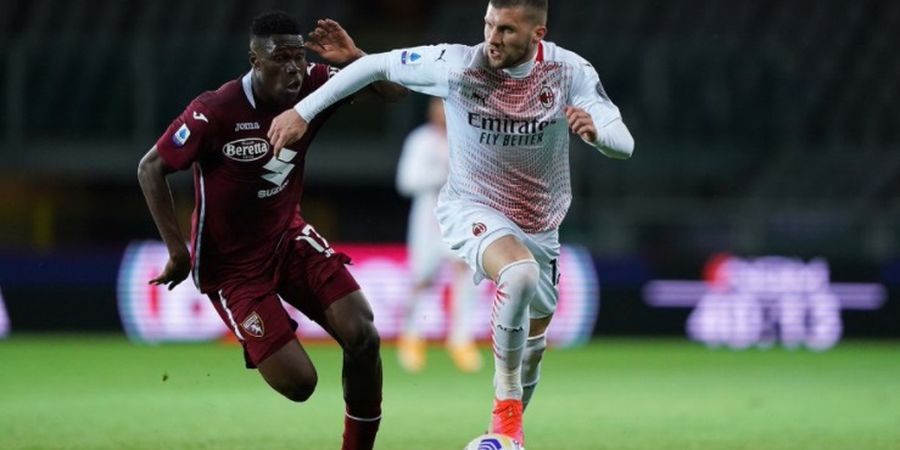 Hasil Liga Italia - Theo Hernandez Jadi Striker, Ante Rebic Hattrick, AC Milan Menang Terlalu Gampang