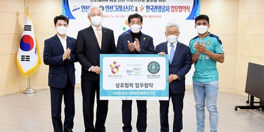 Prestasi Baru Asnawi Mangkualam: Baru Tiga Bulan di Korea, Sudah Ditunjuk Jadi Duta Pariwisata