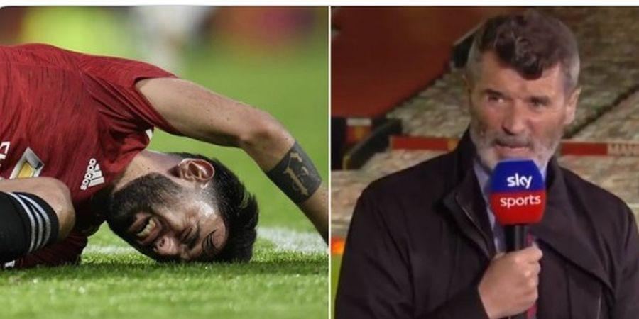 Sebal dengan Aksi Bruno Fernandes, Legenda Man United: Dia Kebanyakan Merengek