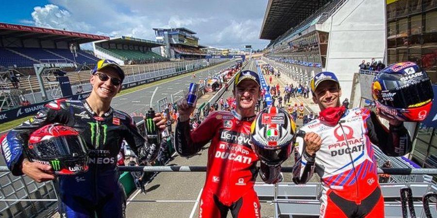 Hasil MotoGP Prancis 2021 - Jack Miller Menang, Marc Marquez Apes 2 Kali