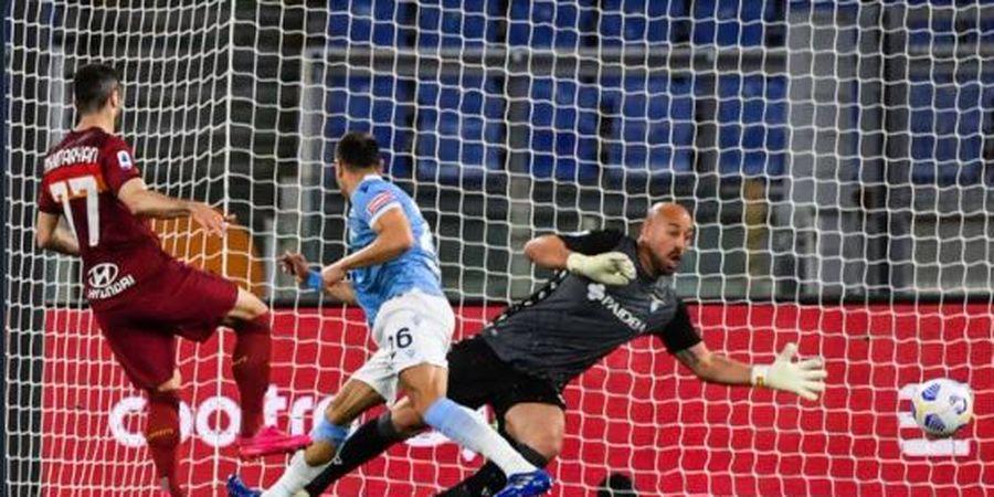 Hasil Liga Italia - Menangi Derbi Ibu Kota, AS Roma Kirim Lazio ke Liga Malam Jumat