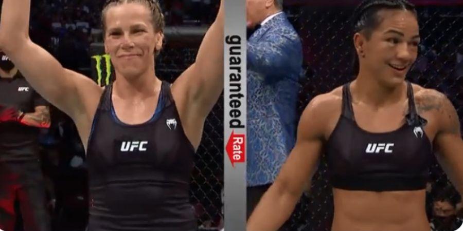 Hasil UFC 262 - Duel Dua Pemburu Ratu Kelas Terbang UFC, Peringkat 2 Menang