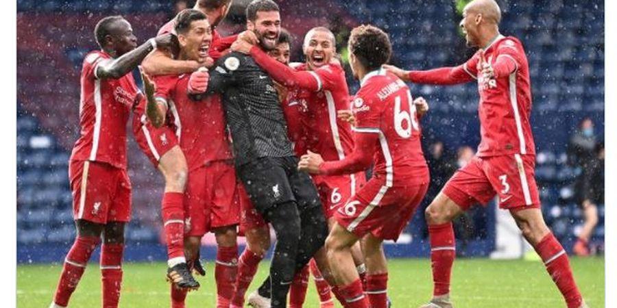 Setelah 4 Tahun, Liverpool Akhirnya Tekuk West Brom Berkat Gol Alisson Becker Menit 95