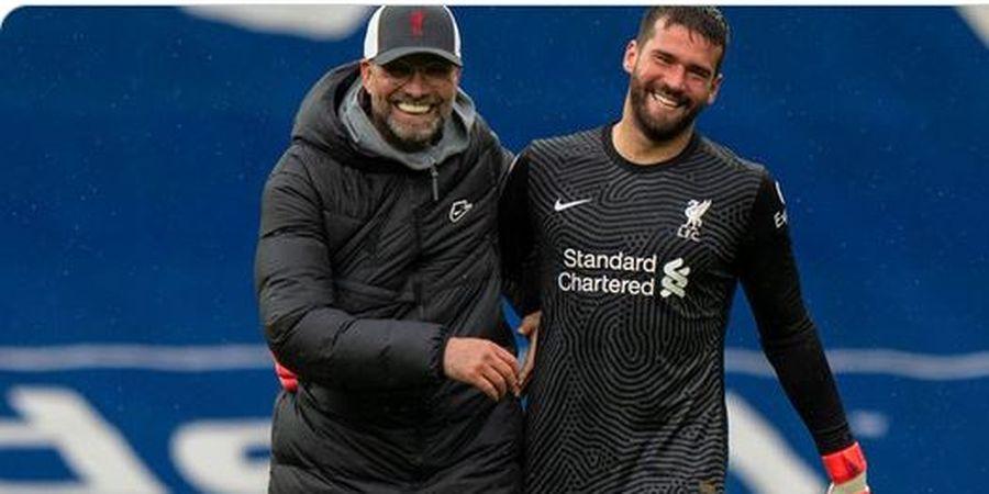 Juergen Klopp Puji Teknik Sundulan Alisson Becker Saat Cetak Gol untuk Liverpool