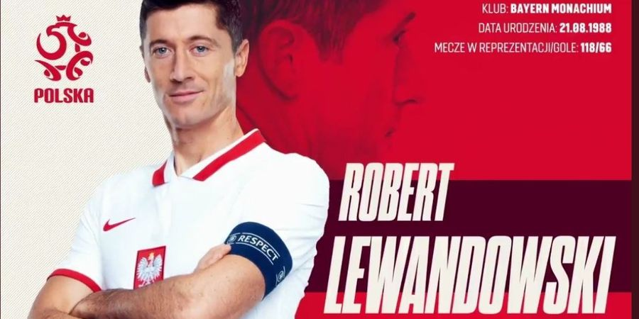 Berita EURO 2020 - Lewandowski Pimpin Skuad Polandia: Ada Pogba Rasa Lokal, Tanpa Rekan Egy Maulana Vikri