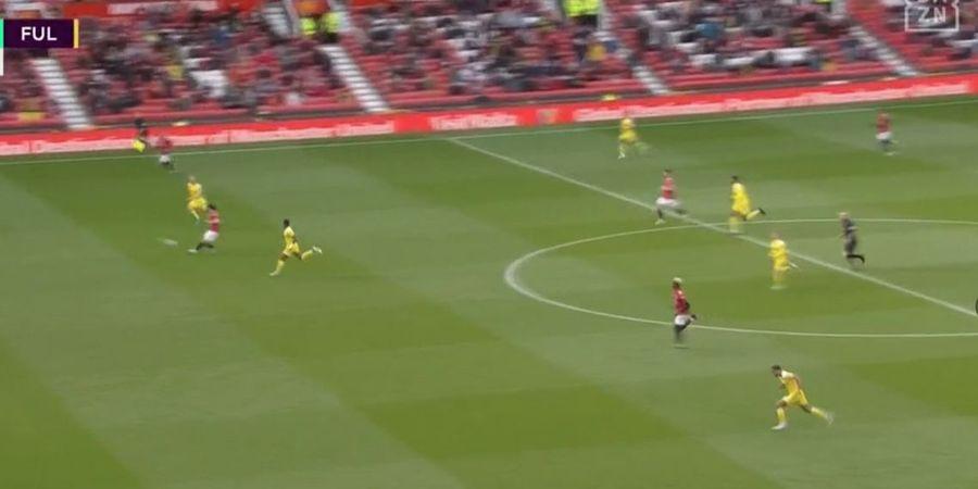 Bruno Fernandes Tak Sentuh Bola, Pelatih Fulham Sebut Cavani Offside 4,5 Meter Sebelum Cetak Gol
