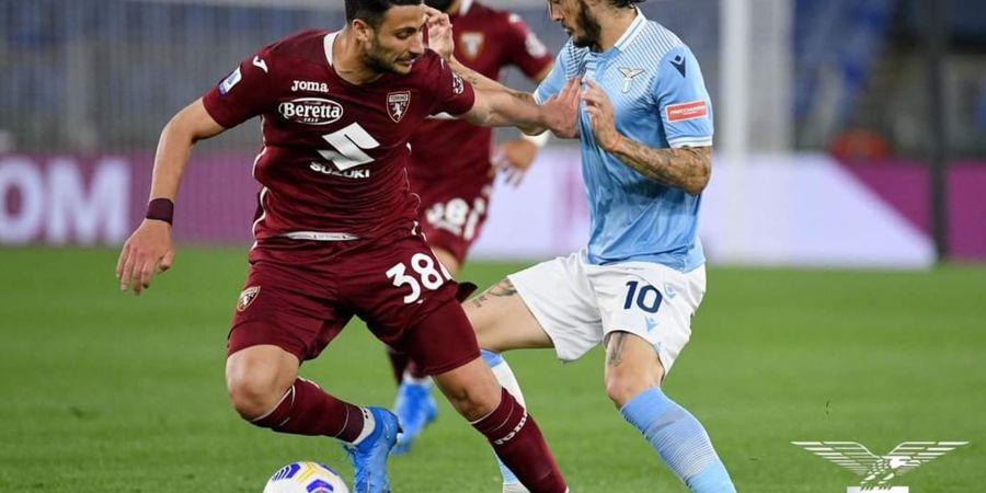 Hasil dan Klasemen Liga Italia - Lazio Imbang Lawan Torino, Klub Filippo Inzaghi Degradasi