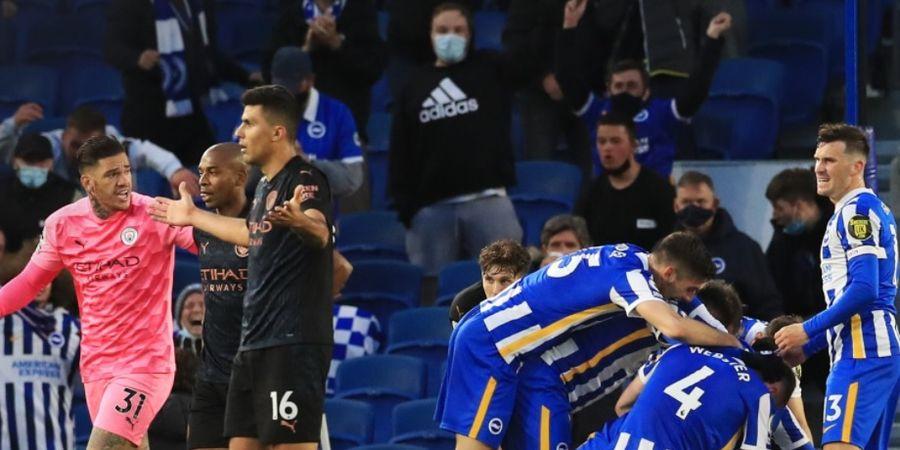 Man City Kena Comeback, Rekor 100 Persen Menang atas Brighton Hancur