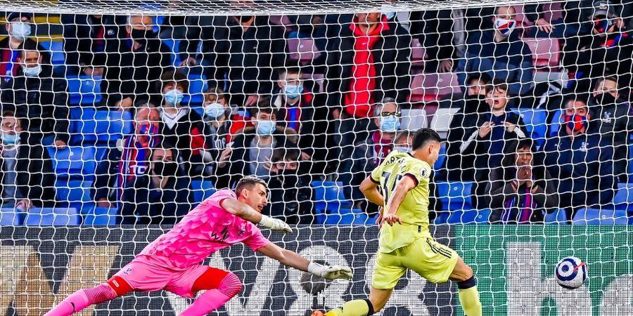 Arsenal Menang Dramatis Lawan Crystal Palace, Gabriel Martinelli Kirim Pesan ke Mikel Arteta