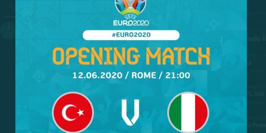 EURO 2020 - Italia vs Turki, Tim Tamu Dinaungi Keajaiban 2 Klub Kuda Hitam