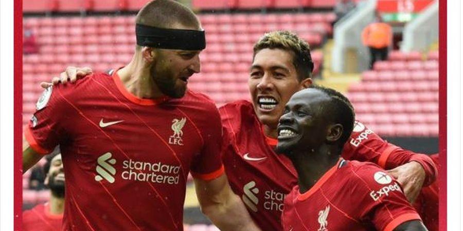 Hasil Liga Inggris - Brace Sadio Mane Antar Liverpool Benamkan Crystal Palace 2-0
