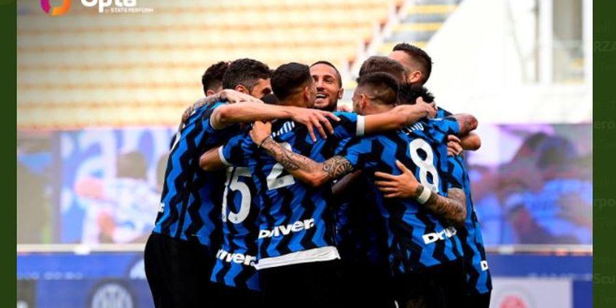 Hasil Liga Italia - Pesta Scudetto Inter Milan Sempurna, Bantai Udinese 5-1, Lukaku Cetak Gol Pakai Mulut