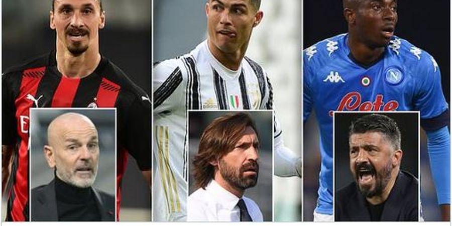 Duel Pamungkas 3 Tim Liga Italia Guna Rebut Dua Tiket Liga Champions
