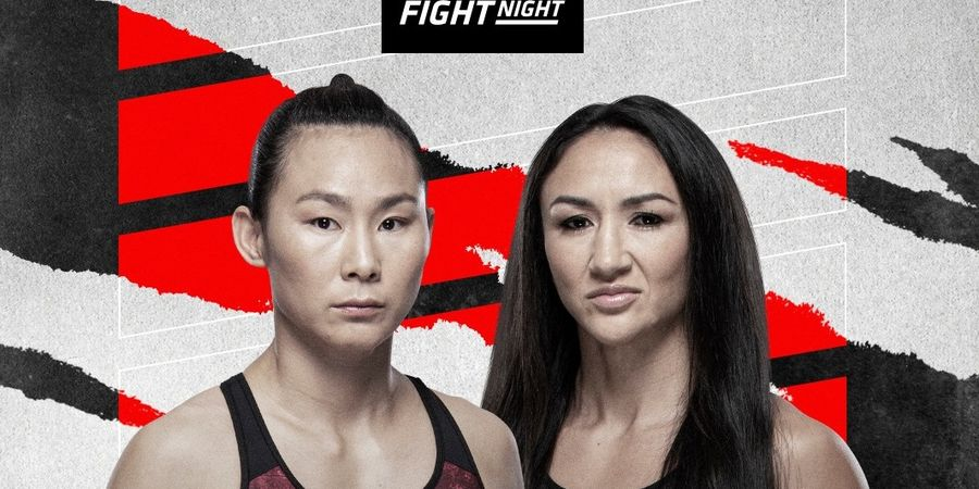 Hasil UFC Vegas 27 - Dahi Hancur Berdarah-darah, Rekan Senegara Zhang Weili Kalah