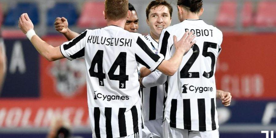 Hasil Liga Italia - Juventus Lumat Bologna, Cristiano Ronaldo Lolos ke Liga Champions dari Bangku Cadangan