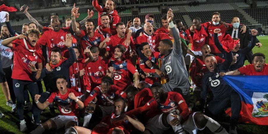 Hasil Lengkap dan Klasemen Akhir Liga Prancis - Akhiri Dominasi PSG, Lille Sah Jadi Juara Baru Ligue 1