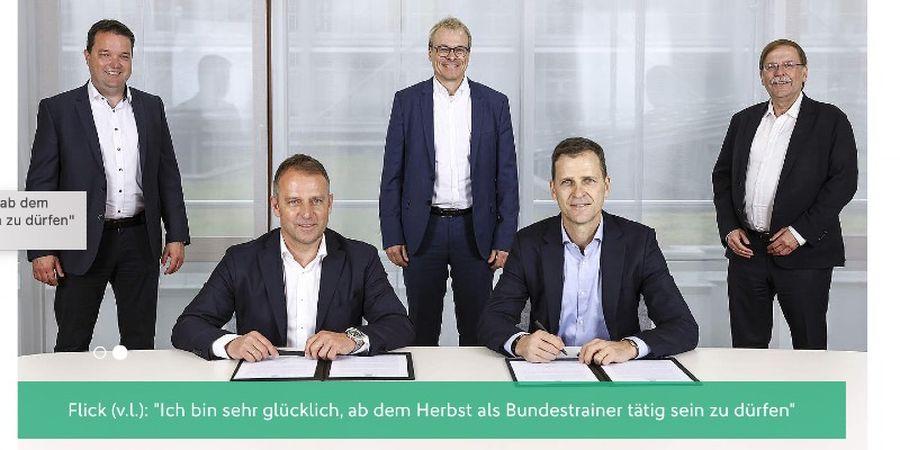 BREAKING NEWS - Hansi Flick Resmi Gantikan Joachim Loew di Timnas Jerman setelah EURO 2020