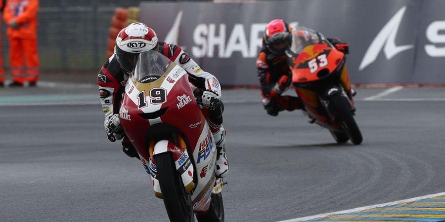Hasil Moto3 Italia 2021 - Berduel dengan Murid Valentino Rossi, Pembalap Indonesia Finis Segini