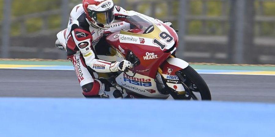 Hasil Kualifikasi Moto3 Italia 2021 - Pembalap Indonesia Mulai Balapan di Belakang Rossi