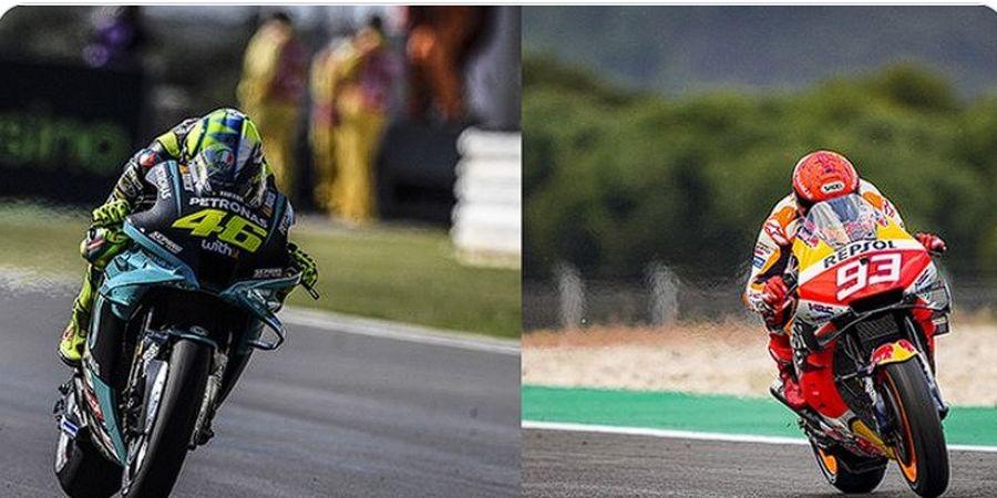 Hasil MotoGP 2021 - Marc Marquez Ikut Parade, Valentino Rossi Kompetitif