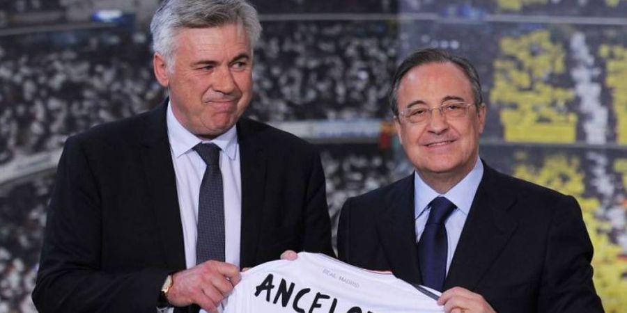 Ditinggal Ramos dan Varane, Lini Pertahanan Real Madrid Bikin Ancelotti Marah