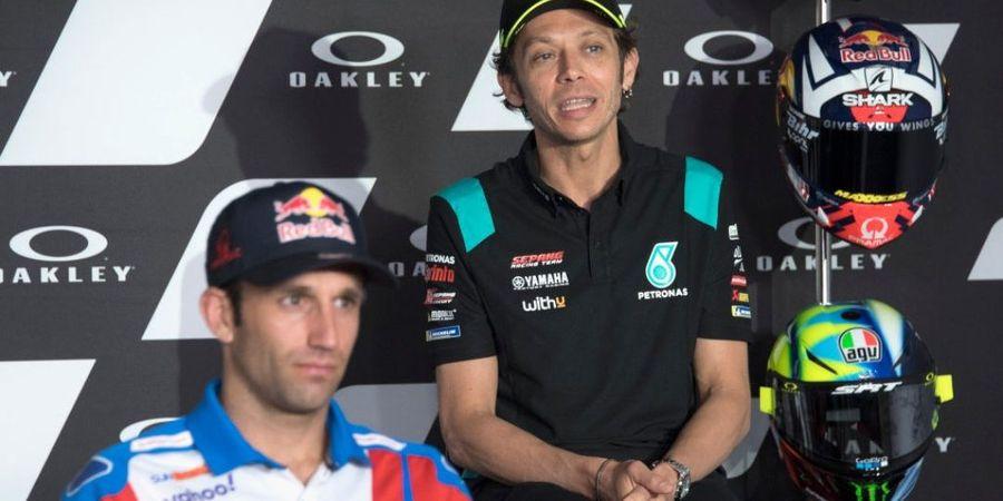 Sumpah Serapah Jadi Kata Terindah Valentino Rossi bagi Pembalap MotoGP Ini
