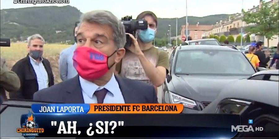 Reaksi Kaget Presiden Barcelona Saat Tahu Ancelotti Melatih Madrid