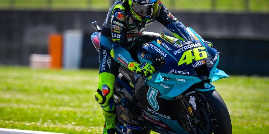 Hasil MotoGP Catalunya 2021 - Fabio Quartararo Finis Telanjang Dada, Valentino Rossi dan Marc Marquez Serasi