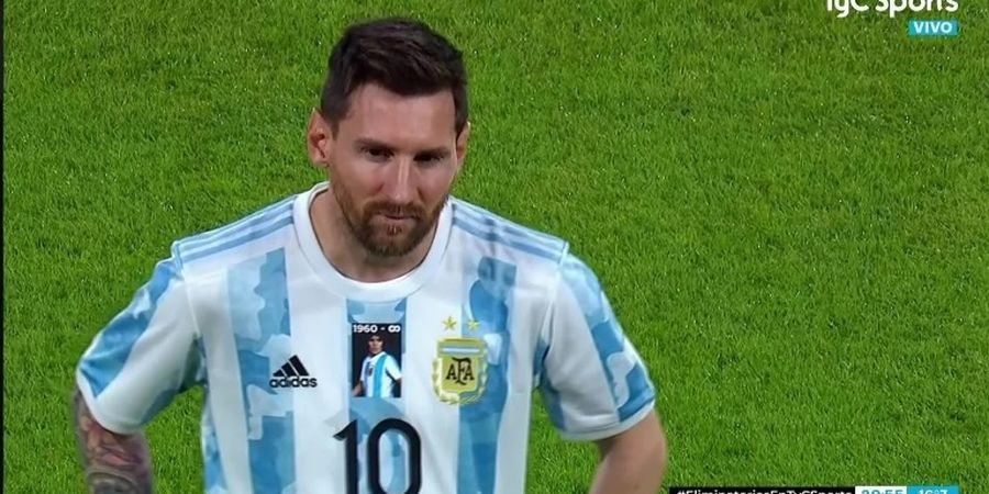 Kontroversi Laga Argentina vs Cile, Messi cs Nekat Langgar Aturan FIFA