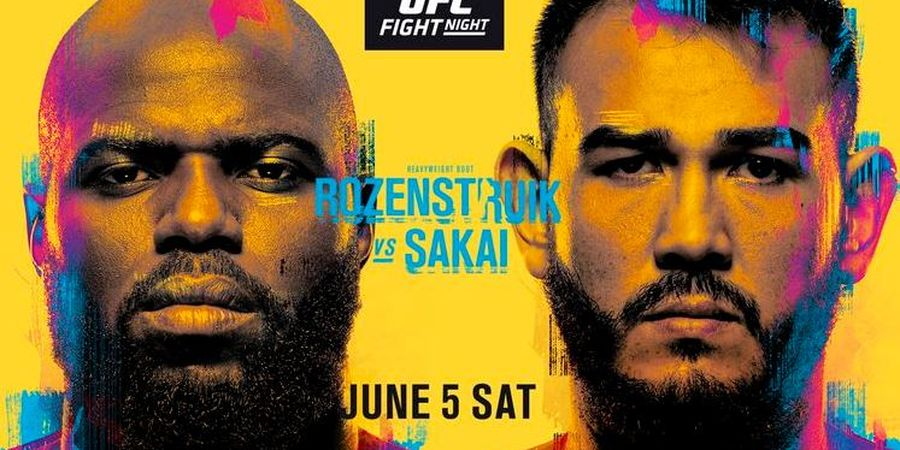 Jadwal UFC Vegas 28 - Penampilan Si Seram asal Suriname
