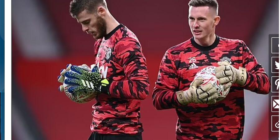 Baru Datang, Kiper Anyar Man United Peringatkan De Gea dan Henderson