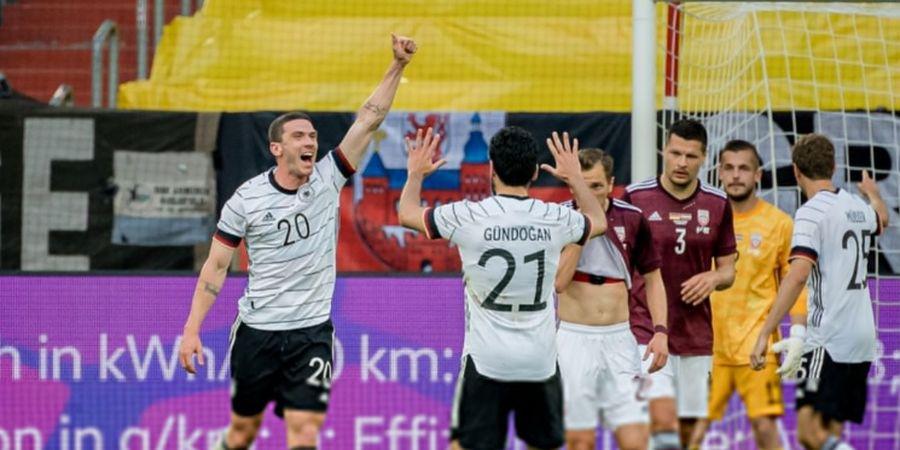Hasil Uji Coba Jelang EURO 2020 - Jerman Menggila, Latvia Dibikin Sengsara