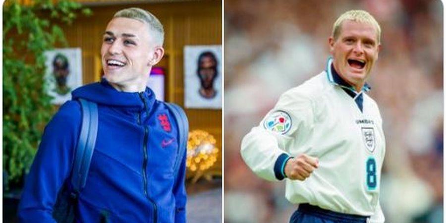 Cerita di Balik Gaya Rambut Pirang Phil Foden Jelang Piala Eropa 2020
