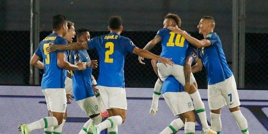 Hasil Kualifikasi Piala Dunia - Neymar Bawa Brasil Jauhi Lionel Messi dkk di Klasemen