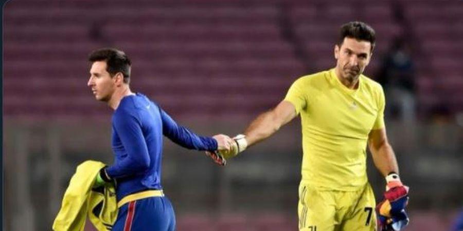 Umur 43 Tahun Tolak Barcelona, Buffon Gagal Jadi Manusia Langka Seklub dengan Ronaldo dan Messi
