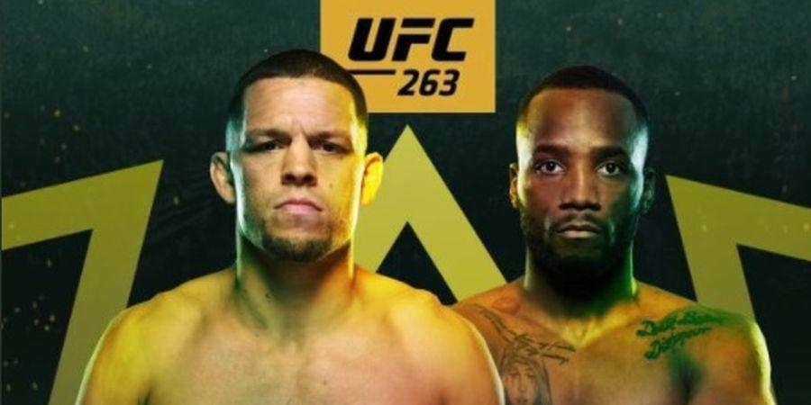 UFC 263 – Nate Diaz Sebut Duelnya dengan Leon Edwards Perebutan Titel
