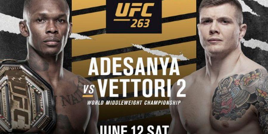 Jadwal UFC 263 - Israel Adesanya vs Marvin Vettori pada Minggu Pagi