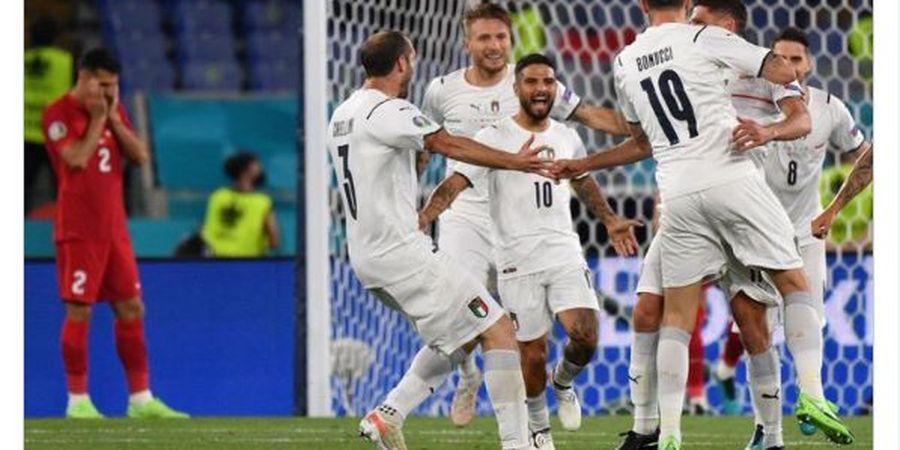 Klasemen EURO 2020 - Kemenanan Telak Antar Italia Menghuni Puncak
